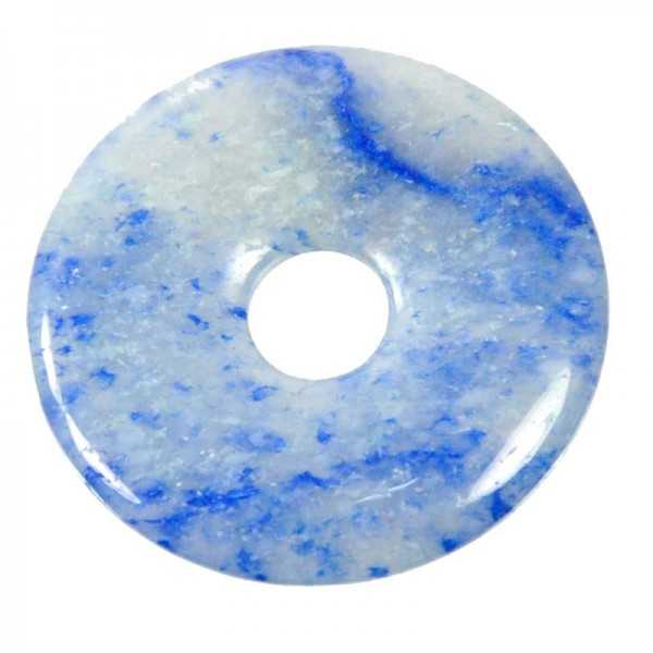 Blauquarz Donut 40