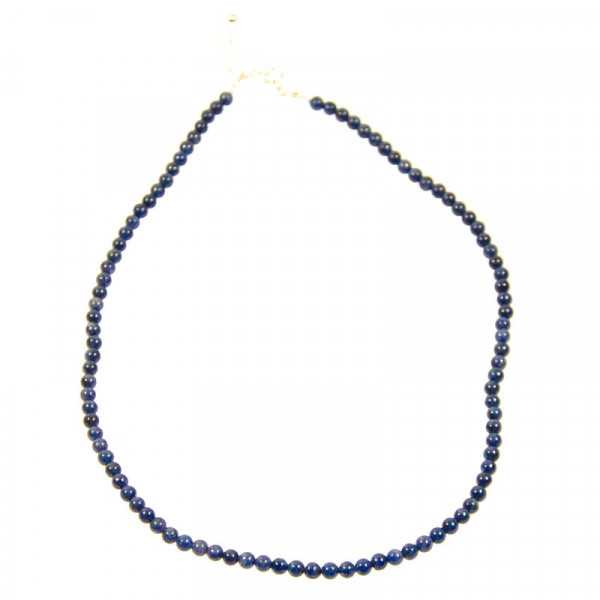 Saphir Edelstein Halskette