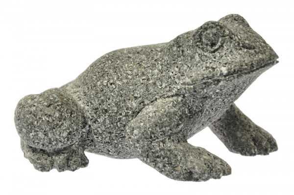 Frosch aus Lawa Basalt