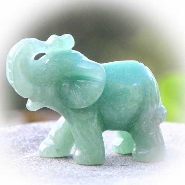Elefant Aventurin 4x5 cm