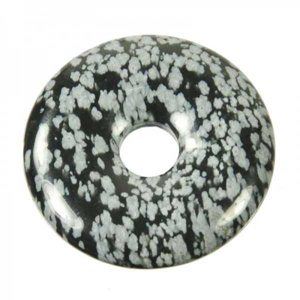 Schneeflocken-Obsidian-Donut 40