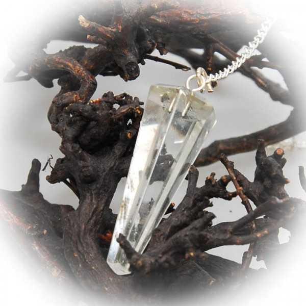 Edelsteinpendel Bergkristall ca. 3 - 4 cm groß