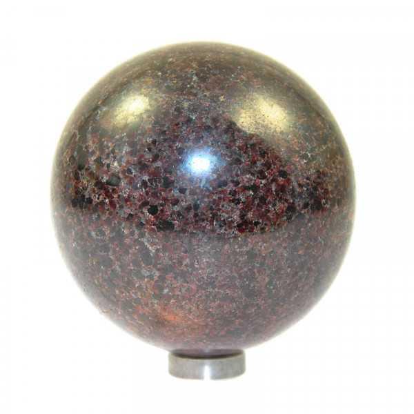 Granat Kugel 9 cm
