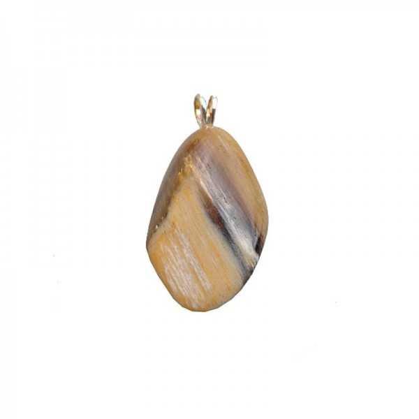 Holz-Opal Anhänger