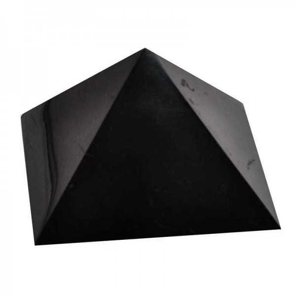 Schungit Pyramide groß 10 cm Kantenlänge