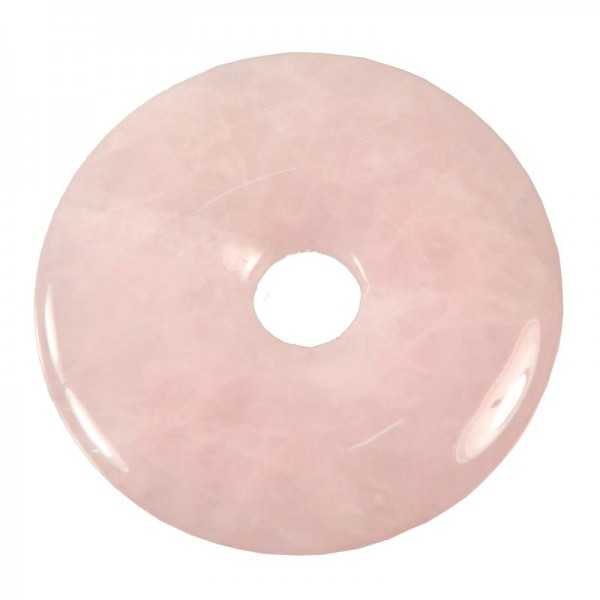 Rosenquarz Donut 50