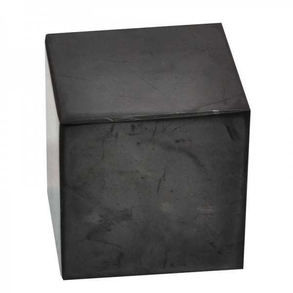 Schungit Würfel 8 x 8 x 8 cm groß