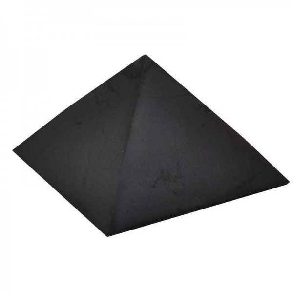 Schungit Pyramide mit 5 cm Kantenlänge
