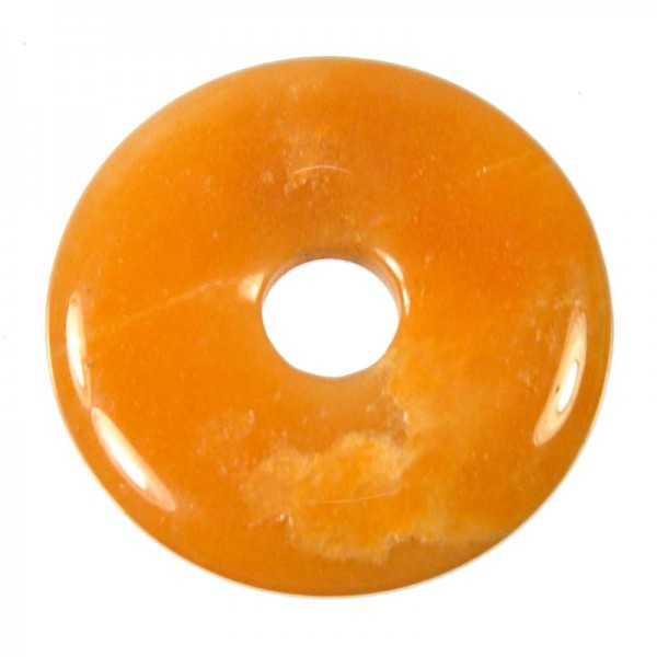 Edelstein Donut Aventurin orange