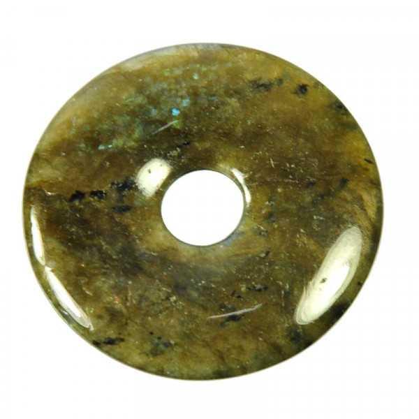Labradorit Donut Anhänger