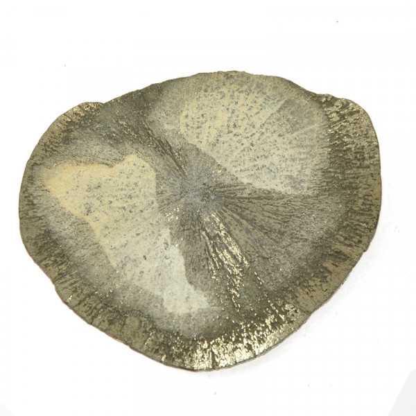 Pyritscheibe ca. 7 x 6 cm Durchmesser