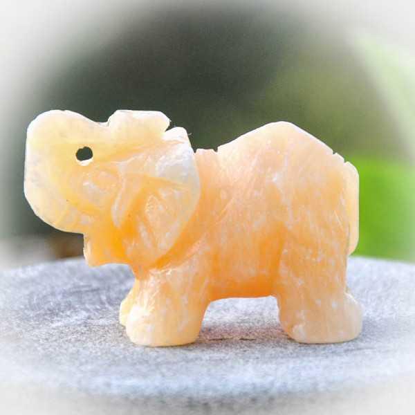 Elefant Calcit 4x5 cm