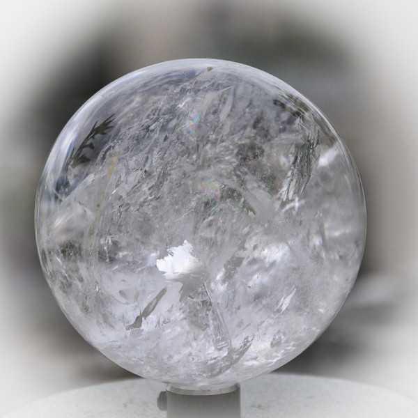Bergkristall kugel 7,8 cm