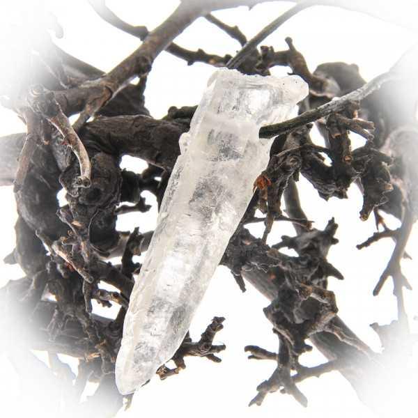 Bergkristall Anhänger natürlich gewachsen