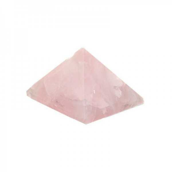 Rosenquarz-Pyramide mini