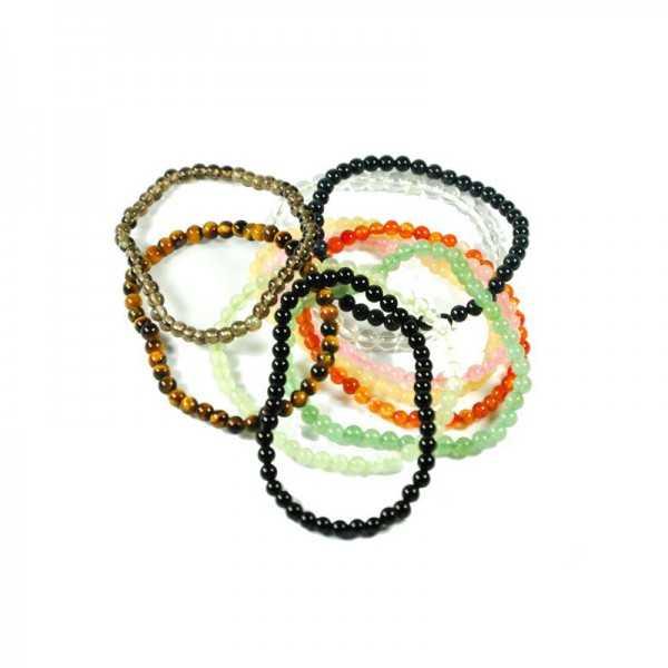 Edelstein Armband auf Elastikband