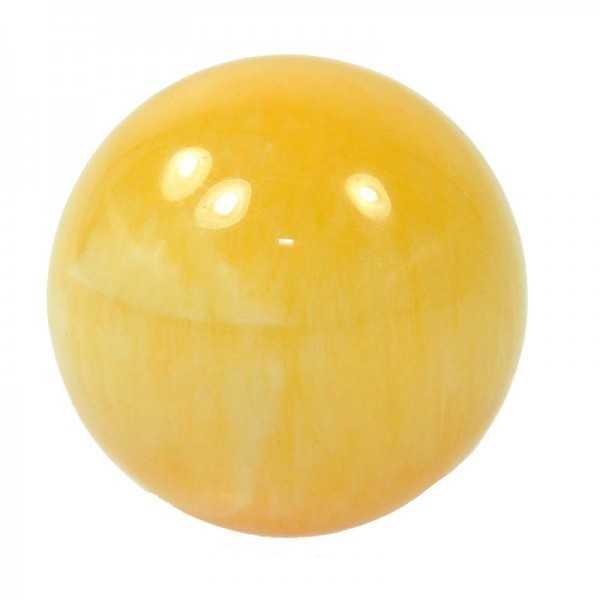 Orangencalcit Kugel 4 cm