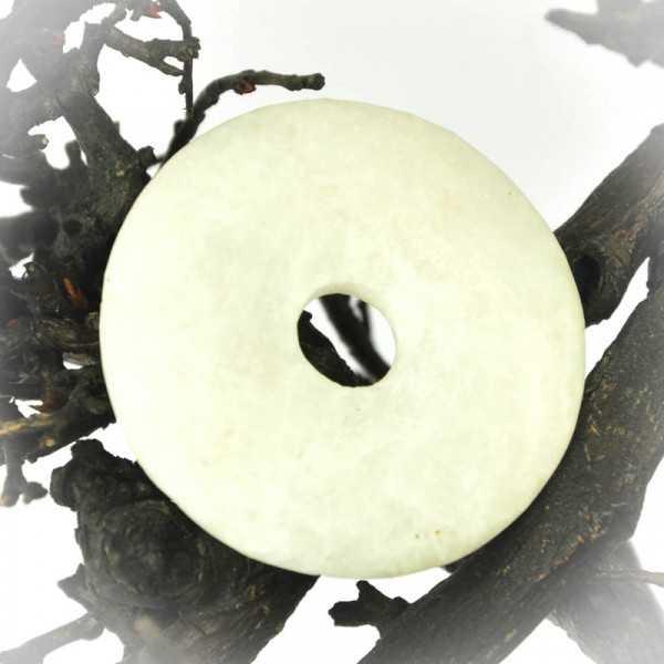 weißer Baryt Donut 4 cm