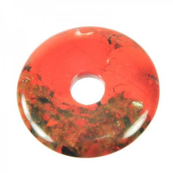 Brechzien Jaspis Edelstein Donut