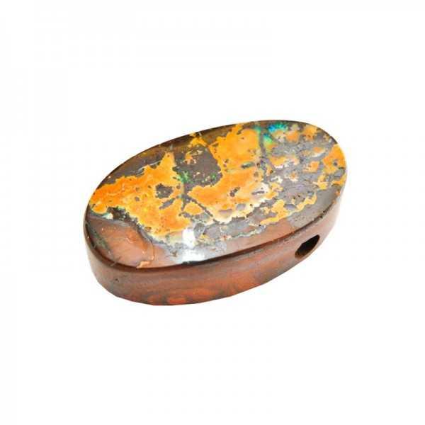 Boulder Opal gebohrt 90