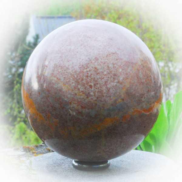 Fossile Marmor Kugel