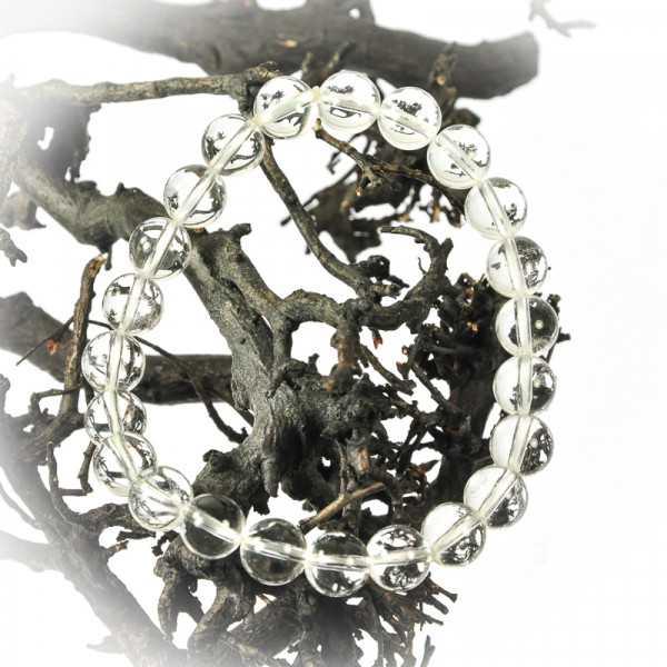 Bergkristall Kugel Armband