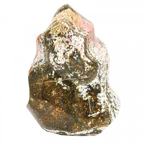 ozeanachat flammenschliff 14 cm