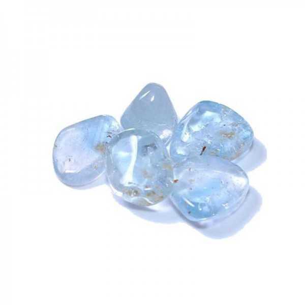 Topas-blau-Trommelstein