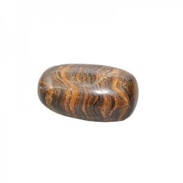 Stromatolith-Trommelstein