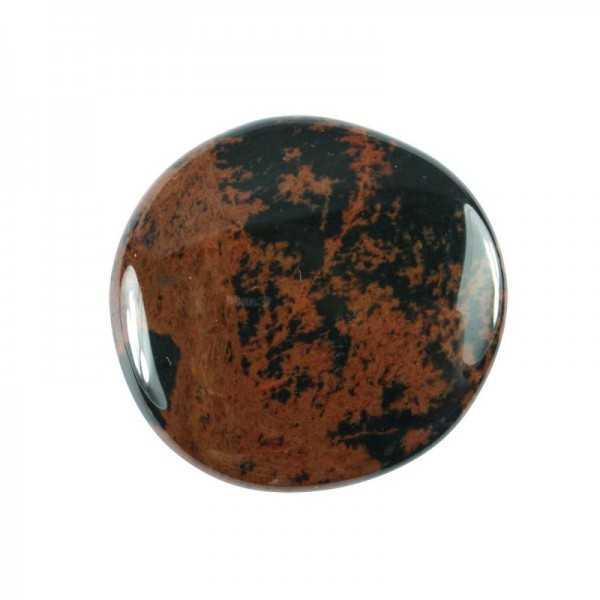 Mahagoni-Obsidian Scheibenstein