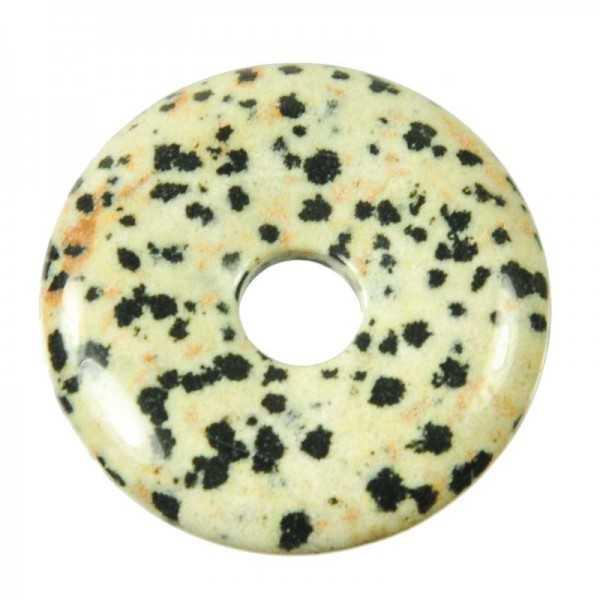 Dalmatiner jaspis Edelstein Donut