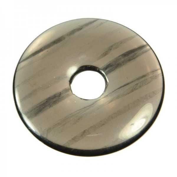 Lamellen-Obsidian Donut 40